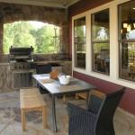Luxury Patio Outdoor Kitchen