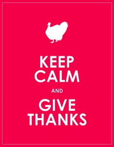 Keep Calm Give Thanks